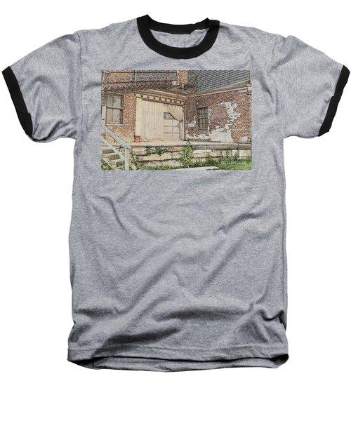 Warehouse Dock Baseball T-Shirt