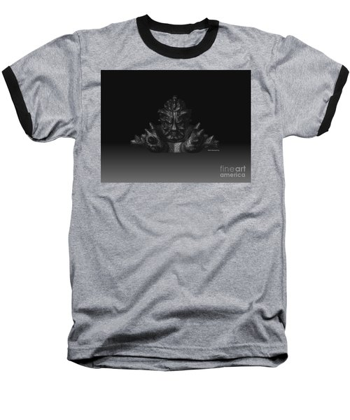 Baseball T-Shirt featuring the sculpture Warlord by R Muirhead Art