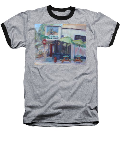 Warm Afternoon In The City  Baseball T-Shirt