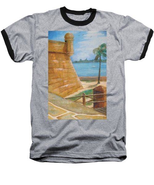 Warm Days In St. Augustine Baseball T-Shirt