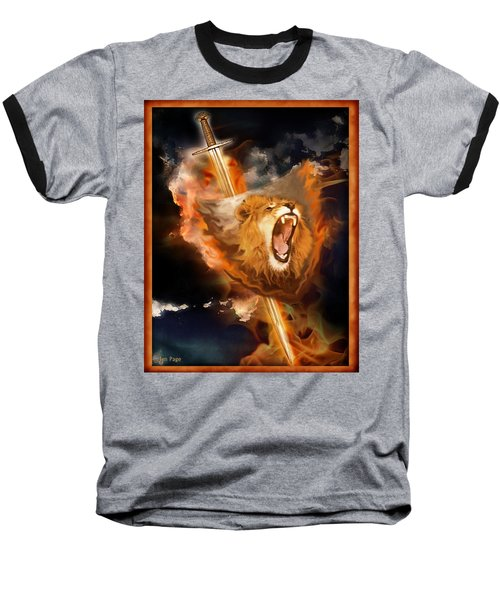 Warrior's Heart Baseball T-Shirt