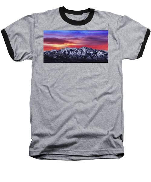 Wasatch Sunrise 2x1 Baseball T-Shirt