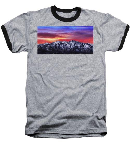 Wasatch Sunrise 2x1 Baseball T-Shirt