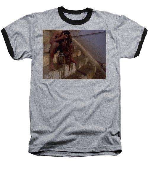 Varanasi Hair Wash Baseball T-Shirt