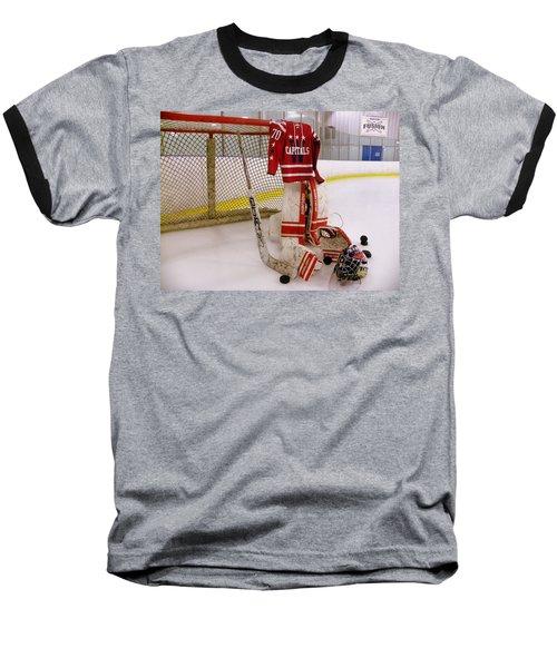 Washington Capitals Braden Holtby Winter Classic 2015 Jersey Baseball T-Shirt