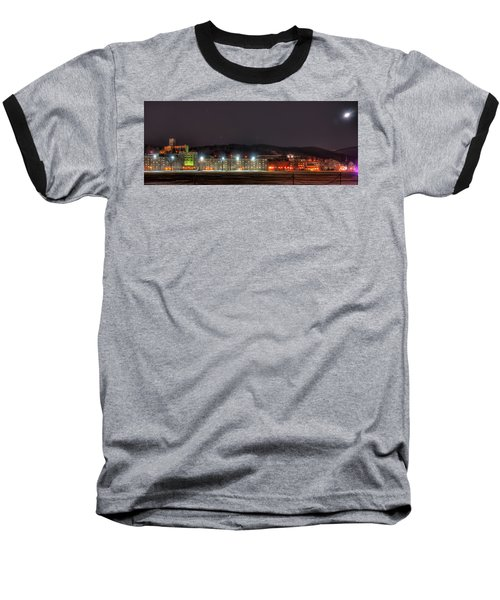 Washington Hall At Night Baseball T-Shirt