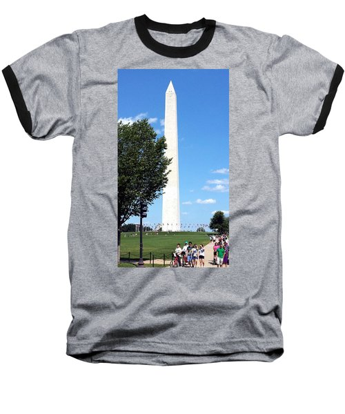 Washington Monument Baseball T-Shirt