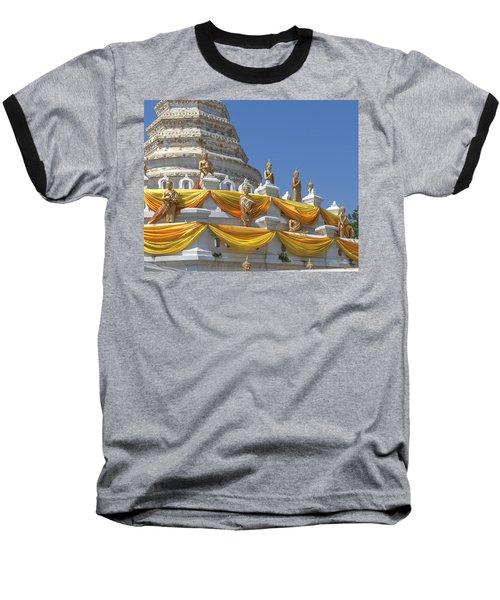 Wat Songtham Phra Chedi Buddha Images Dthb1916 Baseball T-Shirt