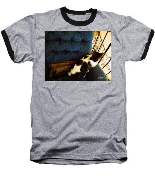 Watch Cat Baseball T-Shirt