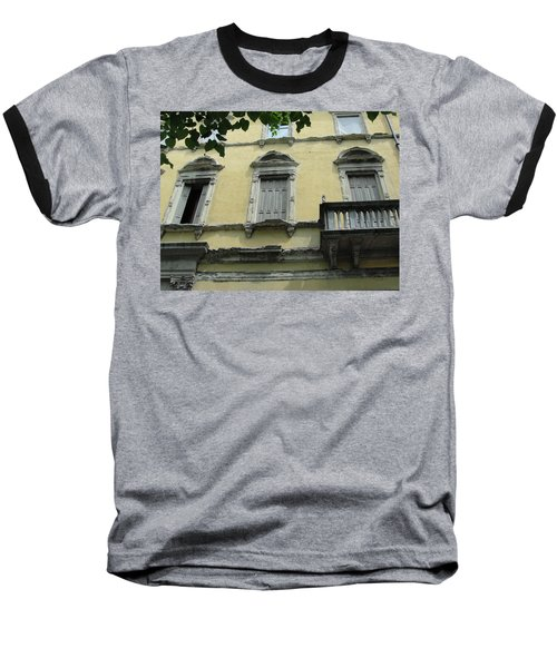 Baseball T-Shirt featuring the photograph Watch Your Step by Natalie Ortiz