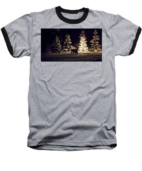Watchful Eye Baseball T-Shirt by Aaron Aldrich