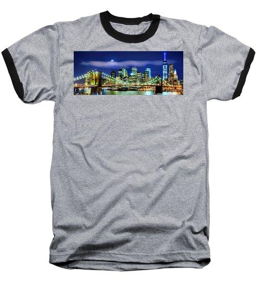 Watching Over New York Baseball T-Shirt