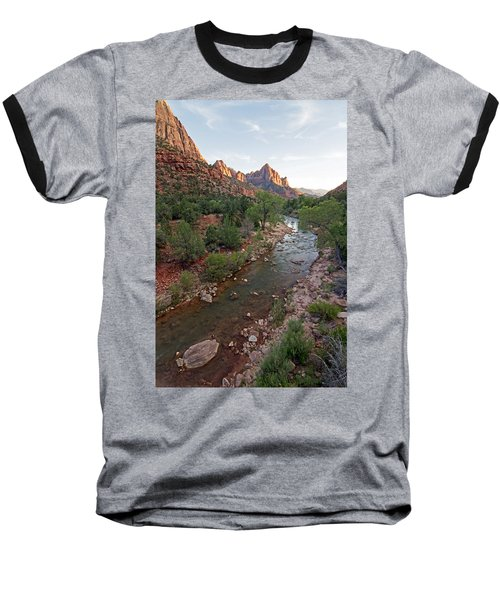 Watchman Sunset Baseball T-Shirt