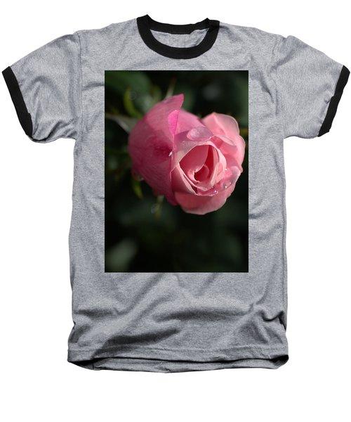 Water And Rose Baseball T-Shirt