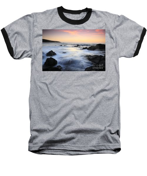 Water And The Sunset Baseball T-Shirt