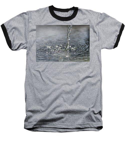 Water Beam Splashing Baseball T-Shirt