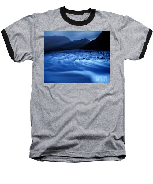 Water Blues Baseball T-Shirt