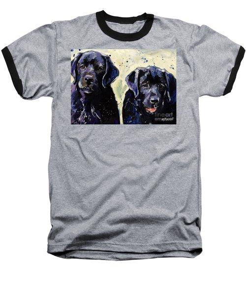 Water Boys Baseball T-Shirt by Molly Poole