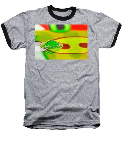 Baseball T-Shirt featuring the photograph Water Crown by Peter Lakomy