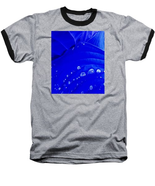 Baseball T-Shirt featuring the photograph Water Droplets  by Carolyn Repka