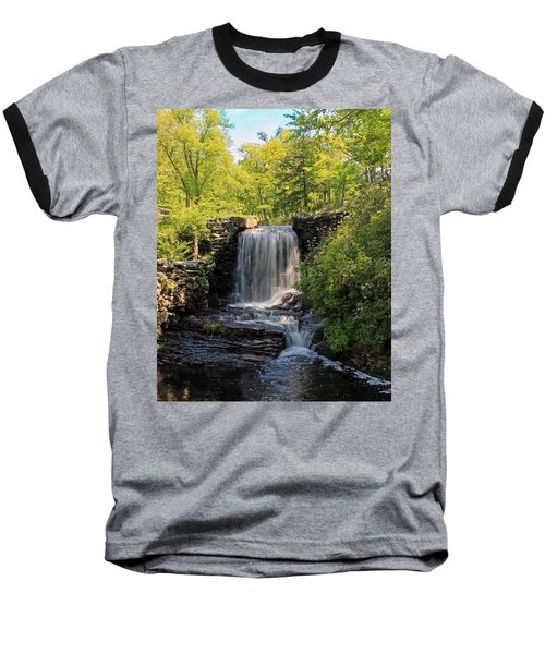 Water Fall Moore State Park 2 Baseball T-Shirt