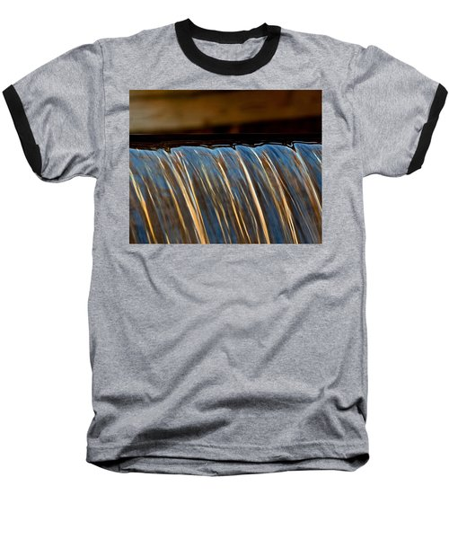 Water Falls Edge 3 Baseball T-Shirt
