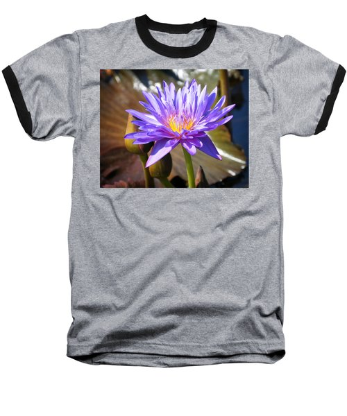 Baseball T-Shirt featuring the photograph Water Flower 1004d by Marty Koch