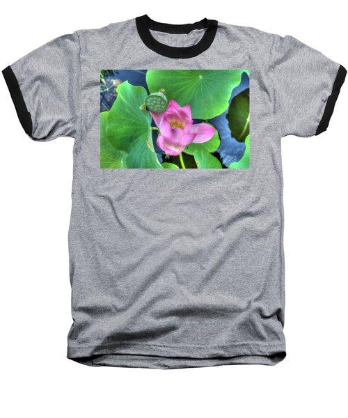 Water Flower Baseball T-Shirt