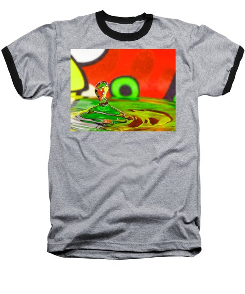 Baseball T-Shirt featuring the photograph Water Hill by Peter Lakomy