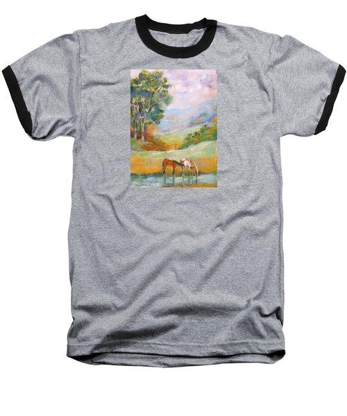 Water Hole Baseball T-Shirt