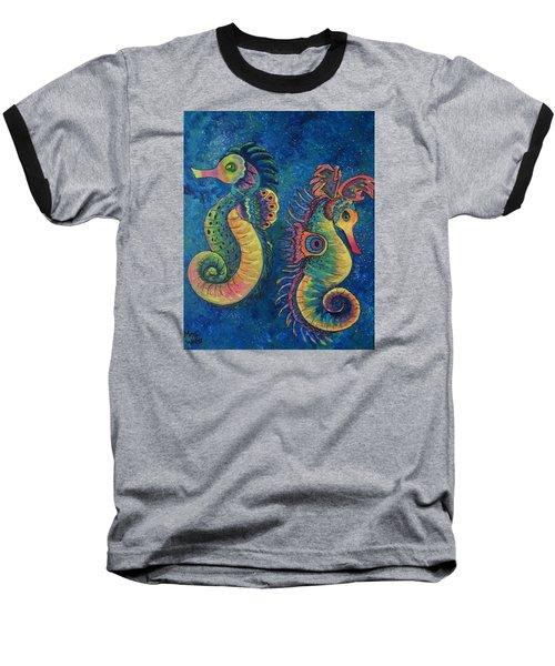 Water Horses Baseball T-Shirt