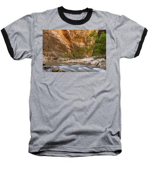 Baseball T-Shirt featuring the photograph Water In The Narrows by Bryan Keil