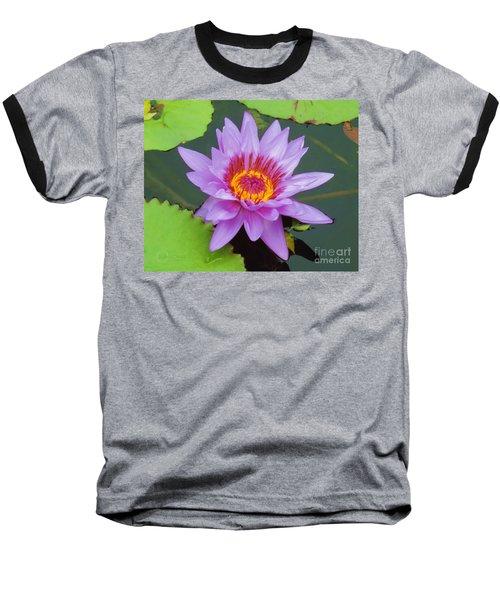 Water Lilies 005 Baseball T-Shirt