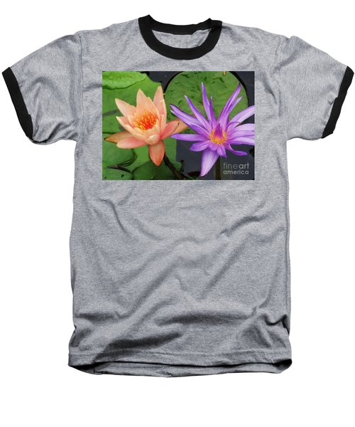 Water Lilies 011 Baseball T-Shirt