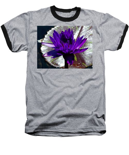 Water Lily 008 Baseball T-Shirt