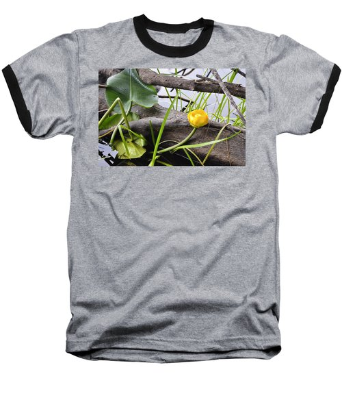 Baseball T-Shirt featuring the photograph Water Lily by Cathy Mahnke