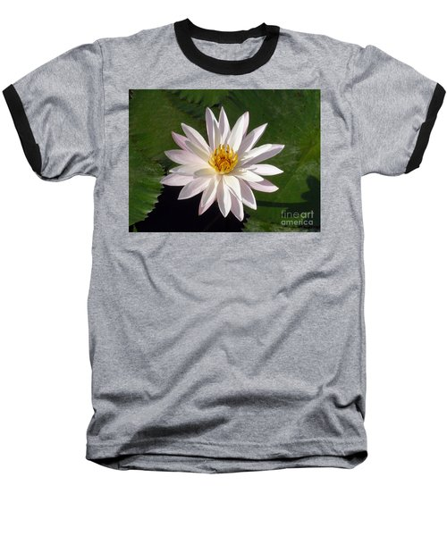 Baseball T-Shirt featuring the photograph Water Lily by Sergey Lukashin