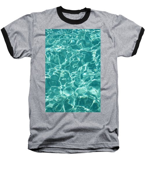 Water Meditation I. Five Elements. Healing With Feng Shui And Color Therapy In Interior Design Baseball T-Shirt