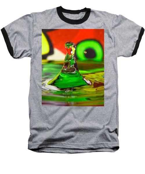 Baseball T-Shirt featuring the photograph Water Mountain by Peter Lakomy