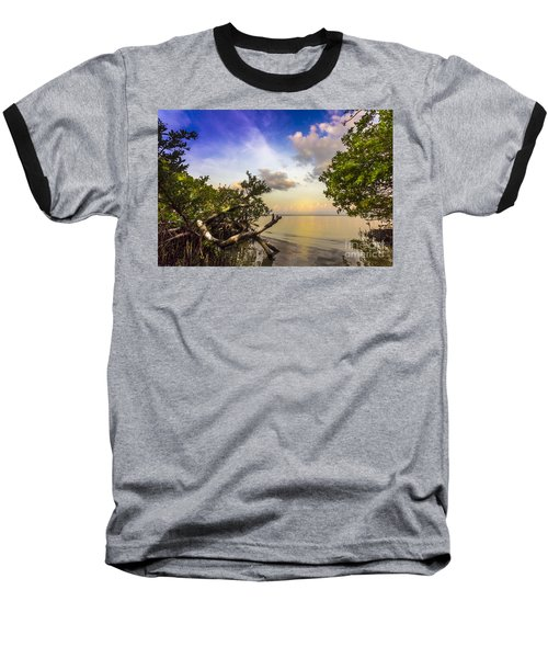 Water Sky Baseball T-Shirt