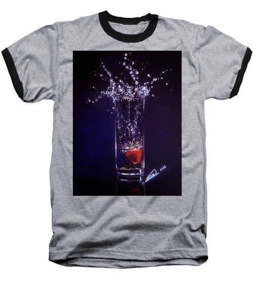 Water Splash Reflection Baseball T-Shirt
