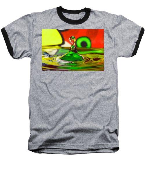 Baseball T-Shirt featuring the photograph Water Stick by Peter Lakomy