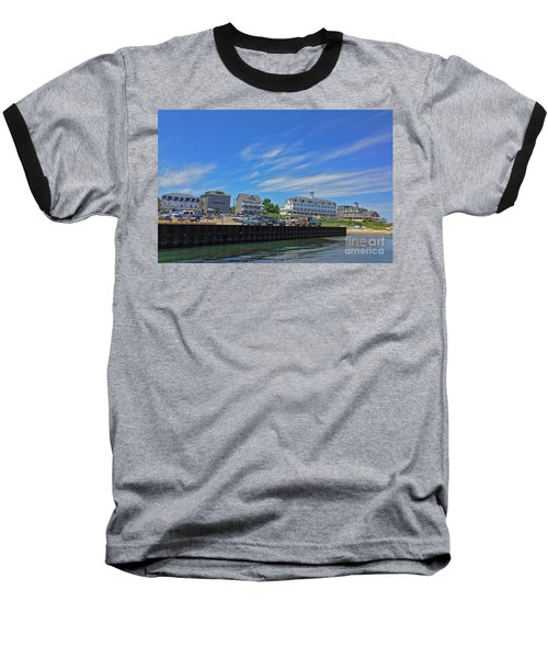 Water Street Block Island Baseball T-Shirt