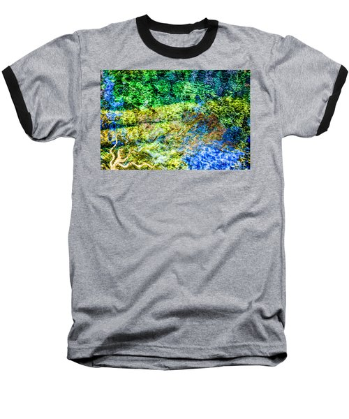 Water Tree Reflections Baseball T-Shirt
