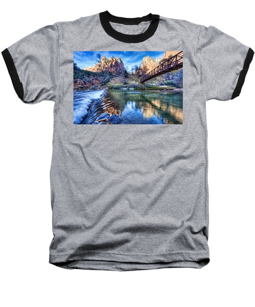 Water Under The Bridge Baseball T-Shirt