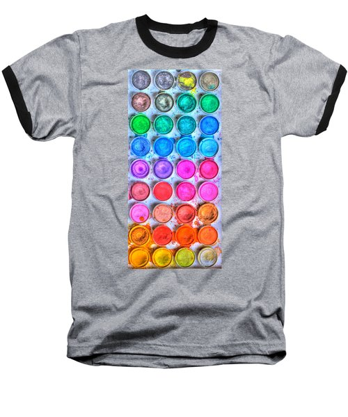 Watercolor Delight Baseball T-Shirt