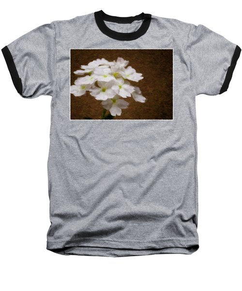 Watercolor Of Daisies Baseball T-Shirt