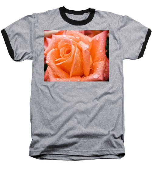 Watered Rose Baseball T-Shirt