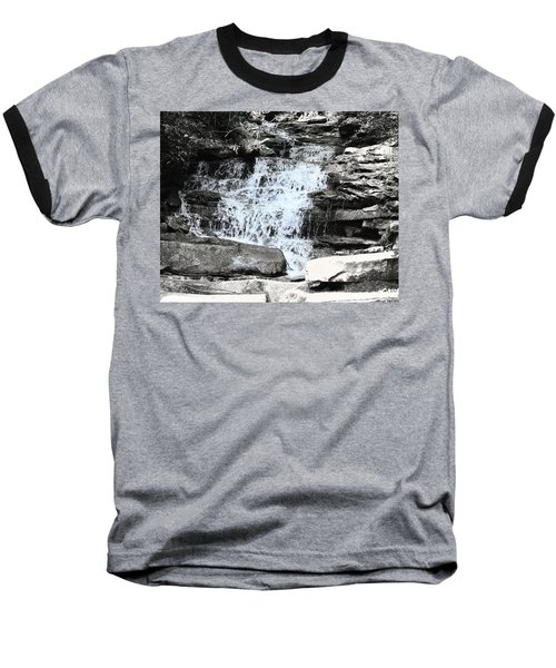 Waterfall 3 Baseball T-Shirt