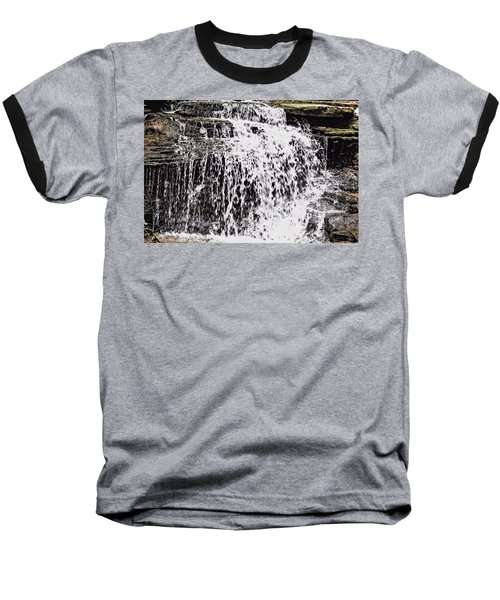 Waterfall 4 Baseball T-Shirt